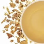 ginger root herbal tea